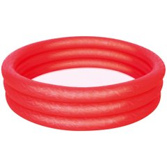 Бассейн BestWay 3-Ring Paddling Pool Red (51024) Spok