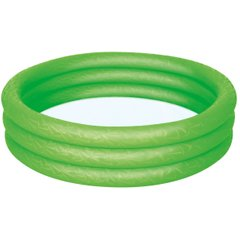 Бассейн BestWay 3-Ring Paddling Pool Green (51024) Spok