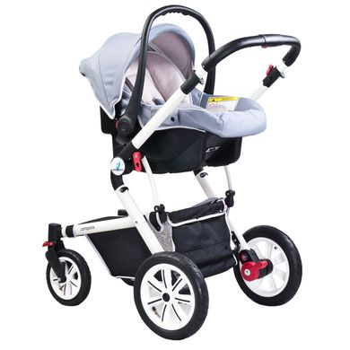 Автокресло Caretero Compass Grey Spok