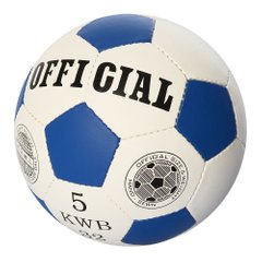 Футбольный мяч Profiball Official 5 Синий (2500-202) Spok