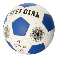 Футбольный мяч Profiball Official 4 Синий (2501-22) Spok
