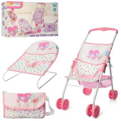 Набор игровой Bambi Baby Doll Travel And Care Set (D94523) Spok